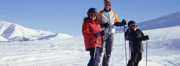 Sicherheit Skifahren